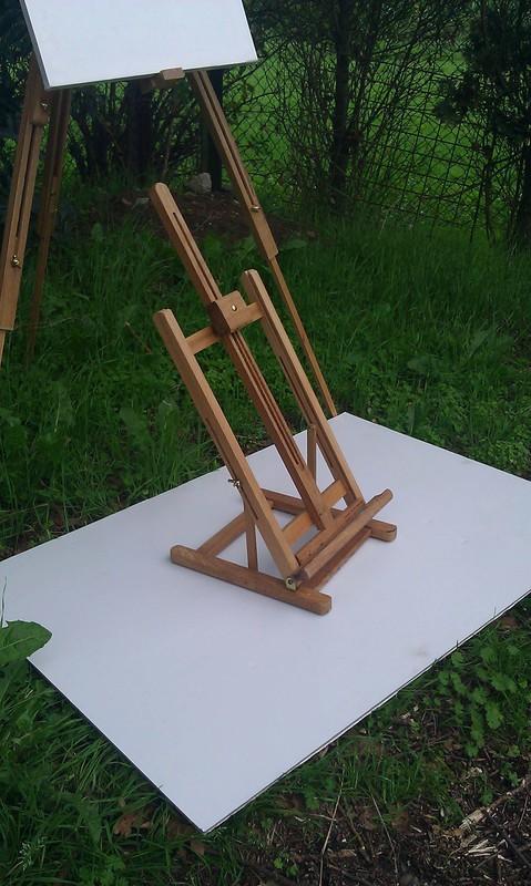 Schildersezel tafel model