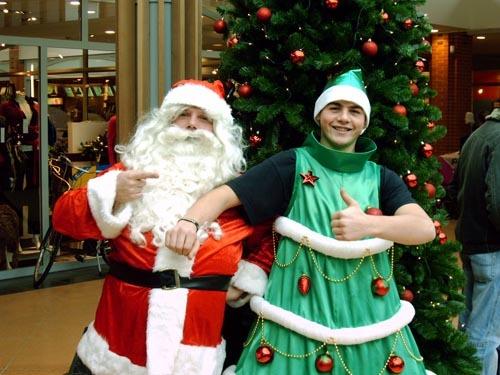 winkelcentra activiteiten Kerstboompak te zien bij BZT-Show