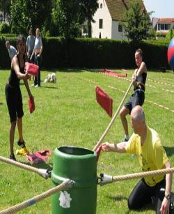 Ton vullen Teambuilding € 25,-