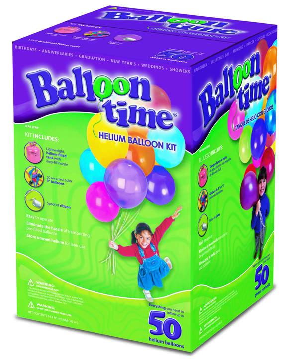 Ballonnen Helium incl. Ballonnen 50 stuks € 54,95
