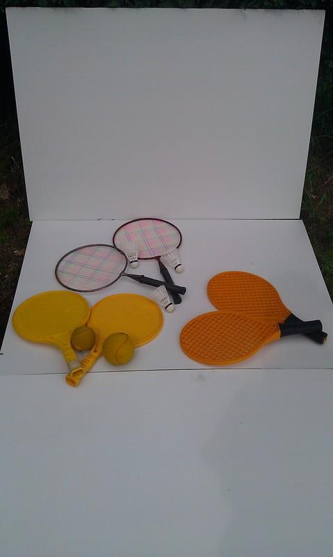Racket spelen badminton tennis € 10,-