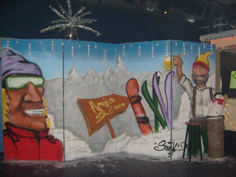 apres ski thema wand 7m € 90,-