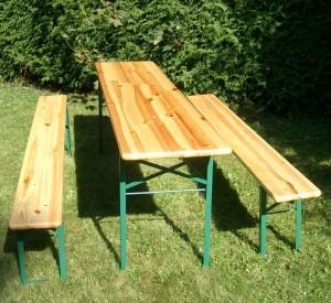 bierbanken en tafels
