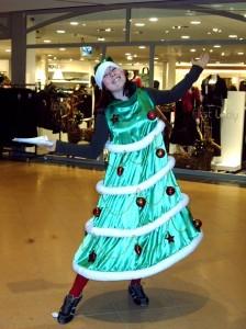 kerst vrouw