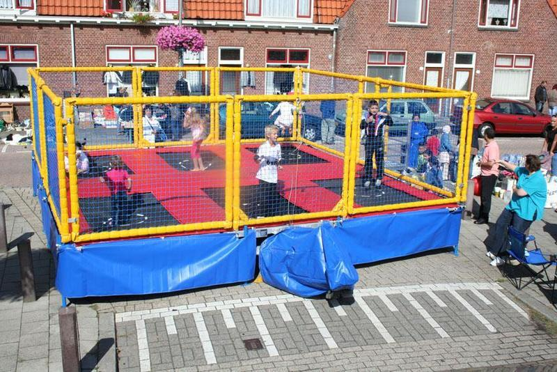 Multitrampoline € 650,-