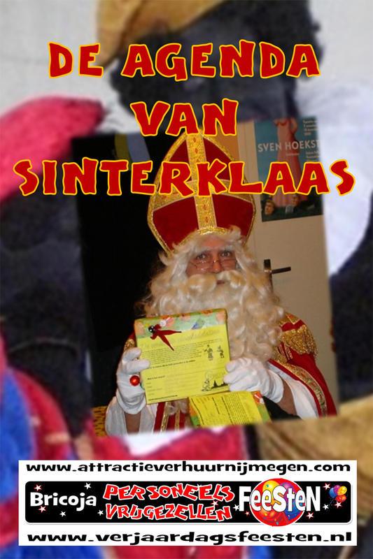 Sinterklaas en Zwartepiet verhuur