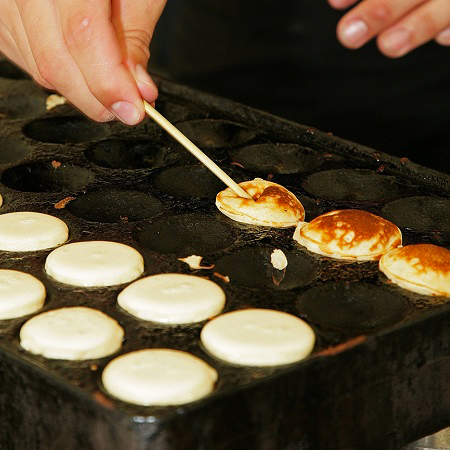 Poffertjes plaat  € 35,-