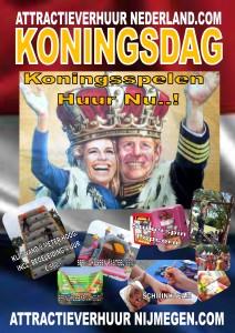 koningsspelen huur nu bij attractieverhuurnijmegen.com
